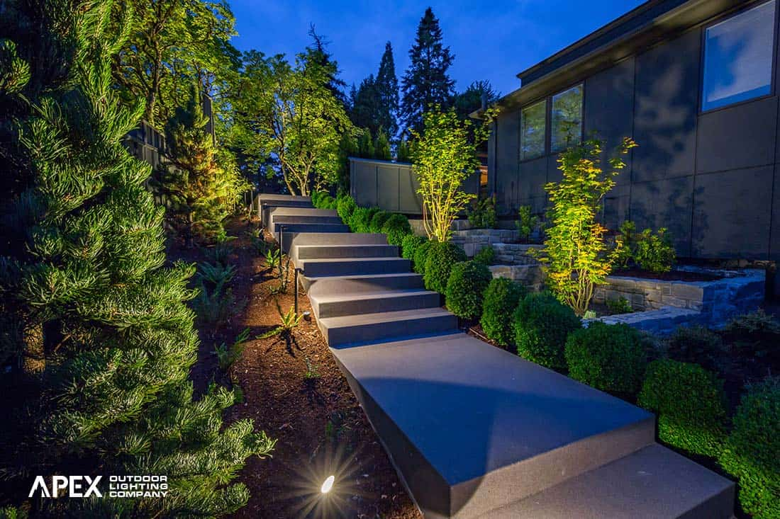 Staircase Landscape Lighting